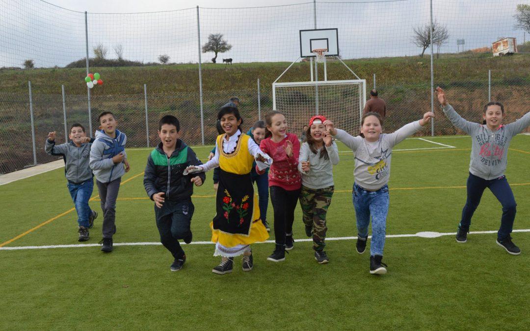 Село Кондово с нова спортна площадка!