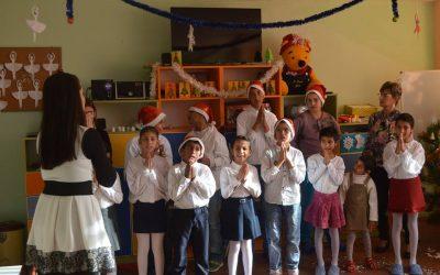 """""""Коледна приказка за добротата"""" в Дневен център за деца с увреждания"""