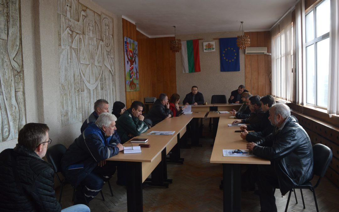 Проведе се разширено съвещание за подготовката на общината за зимния сезон