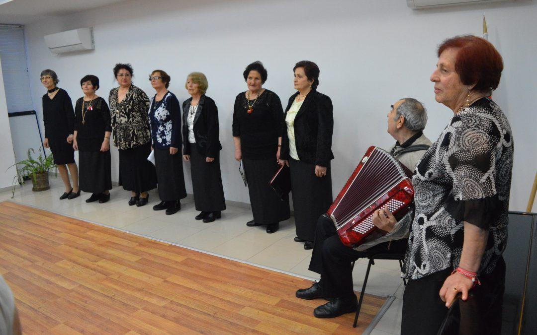 """Група за стари градски песни """"Незабрава"""" с концерт посветен на 8 март"""