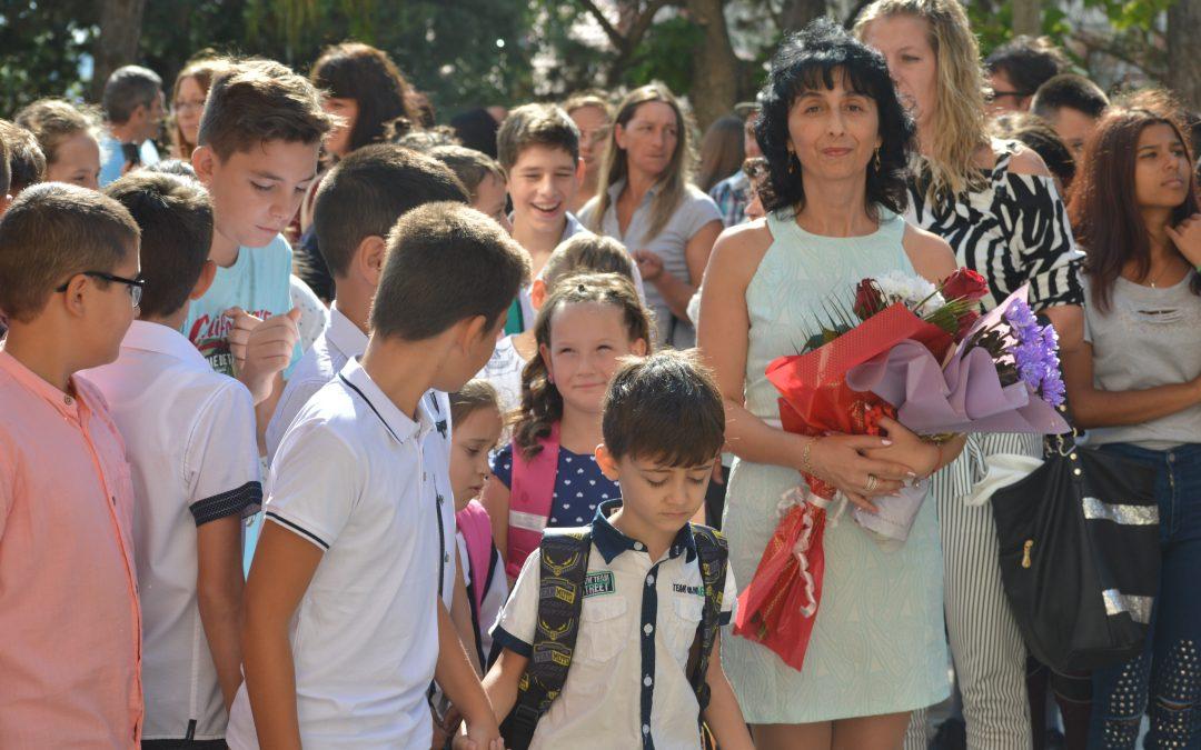 Би първият училищен звънец в община Ивайловград