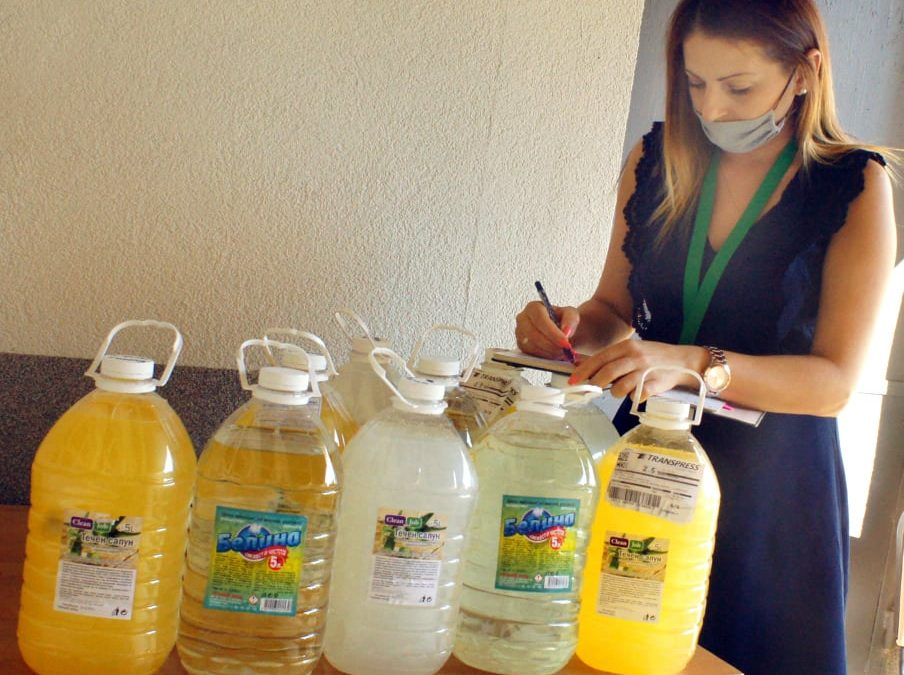 Дарение от предпазни средства получи община Ивайловград