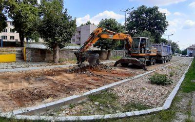 Кипи усилен труд по улиците на Ивайловград