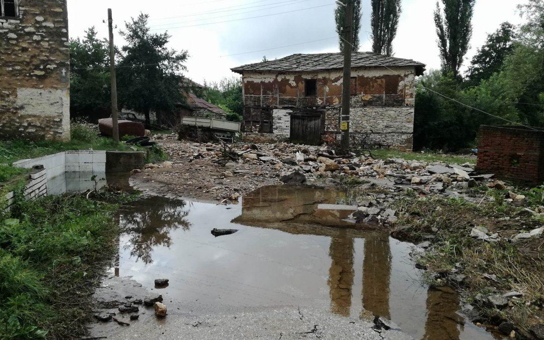 Кметът на Община Ивайловград обявява частично бедствено положение на територията на с.Ленско, с.Соколенци и с. Меден бук със Заповед №281/27.06.2018 г.