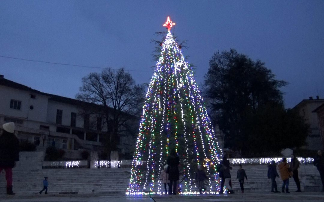 Грейна 12-метрова елха в Ивайловград